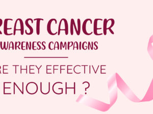 32% of Women Were Influenced by Awareness Campaigns for Breast Cancer