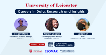 Market research Career Event